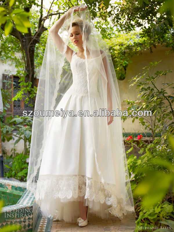 Free shipping onw331 elegant off the shoulder 50s 60s for Vintage wedding dress 60s