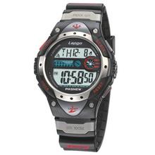 PASNEW Men s Digital Multi function Sports Wrist Watch Outdoors Alarm clock LED Light Night light