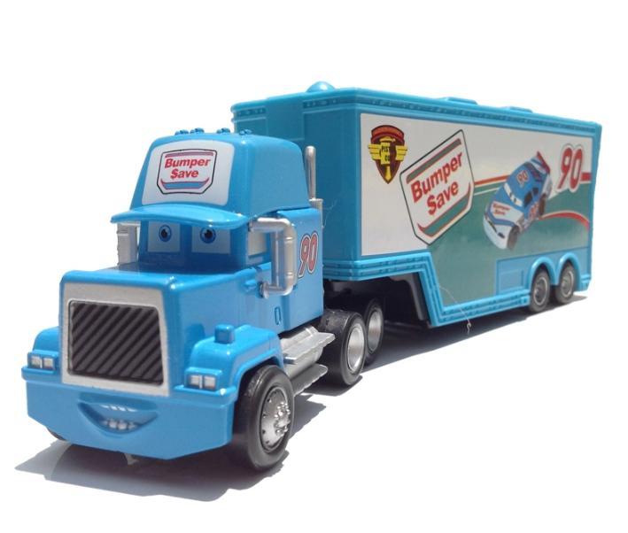 New Pixar Cars 2 Toys Diecast Metal Mack Cars Bumper Save No. 90 Truck Hauler Classic Toys(China (Mainland))