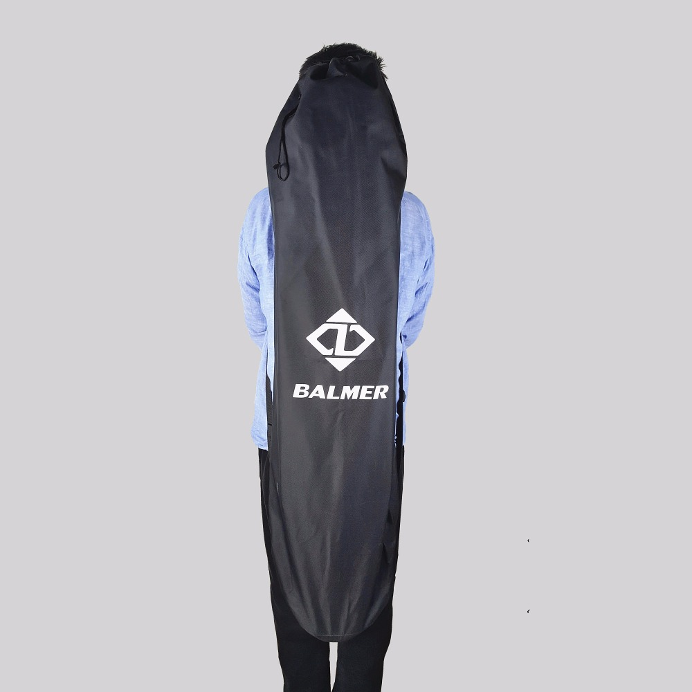120X38cm Longboard Bags Black Long Board Skateboard Backpack Double Shouler Drawstring Bags(China (Mainland))