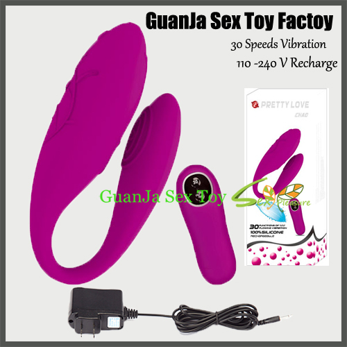 2014 Pretty Love Recharge 30 Speed Silicone Wireless Remote Control Vibrator Adult Sex Toy Products For Couples<br><br>Aliexpress