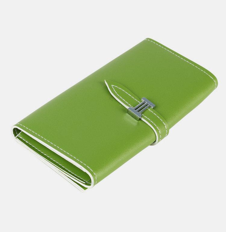 Мода дамы кошелек сумка сплошной цвет держатель новая искусственная кожа карты сумочке Purse-2L