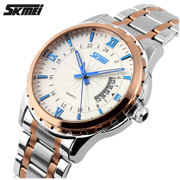 Watches Men Luxury Brand Watch Skmei Quartz Digital Men Full Steel Wristwatches Casual Clock Relogio Masculino Reloj Hombre