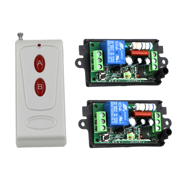 AC220V 1CH RF Radio Controller RF Wireless Remote Control Switch System 315/433 Mhz Transmitter Receiver<br><br>Aliexpress