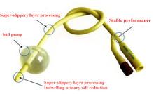 Double Holes Silicone urethral sounds catheter dick insert Tube penis plug stretching fetish men sex products(China (Mainland))
