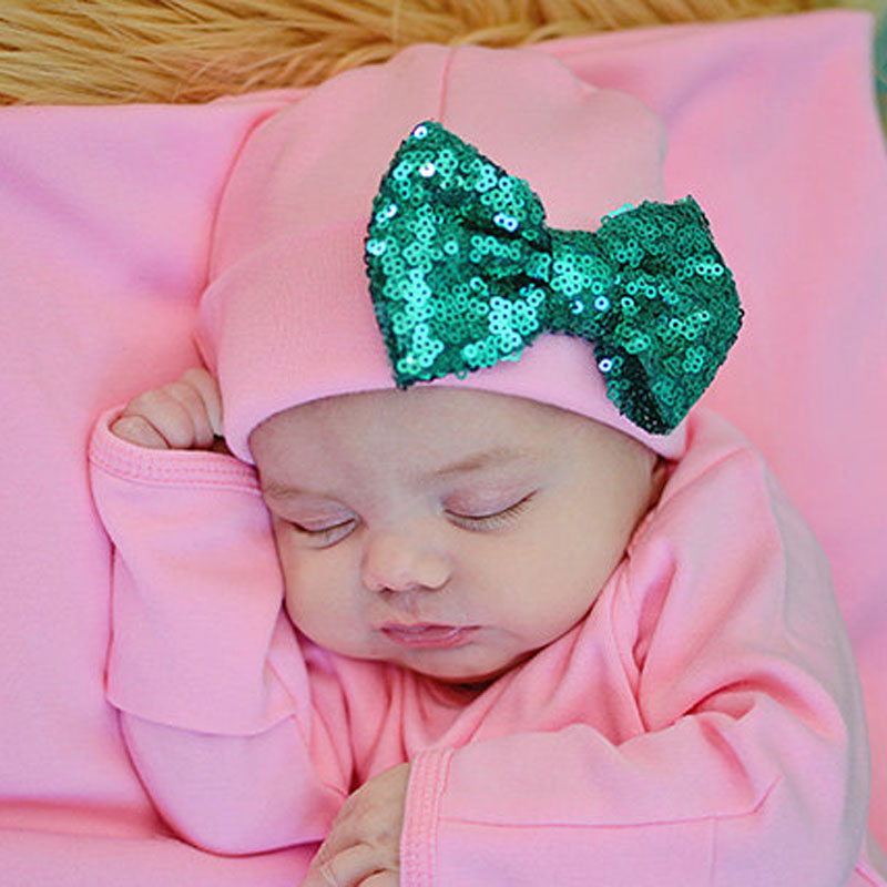 Big Bow Newborn Girl Cotton Hat Baby Spring Beanies Cap Infant Photo Prop Hat Sweet Baby Gift Head Accessories SW169(China (Mainland))