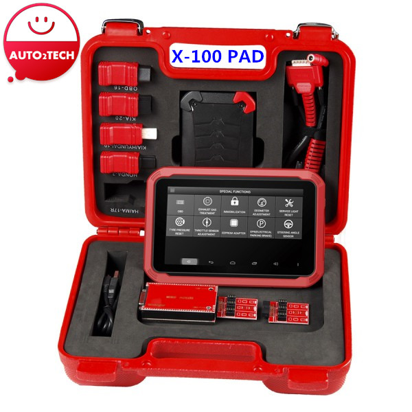 New Arrival X-100 PAD Tablet Key Programmer with EEPROM Adapter Support Special Functions Support Free Update Permanently(China (Mainland))