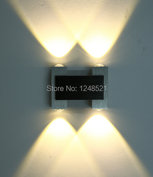 Hot Led Lamp 12w Wall Lamp 85 265v Led Up And Down Indoor Outdoor Wall Lights For Bedroom Living