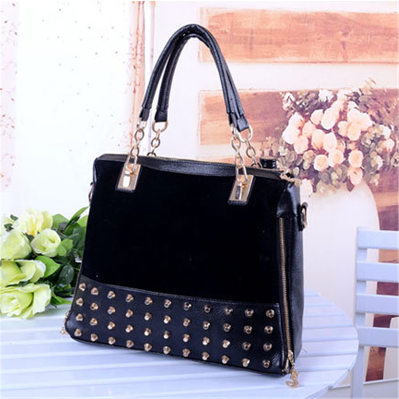 2015 Fashion Women Messenger Hobo Handbag Ladies PU Leather Tote Purse Bags Shoulder Bag High Quality Free Shipping N565<br><br>Aliexpress