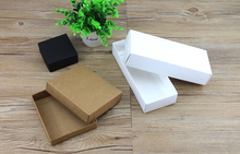30pcs Kraft Paper gift boxes favor case food container storage Packaging Box