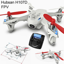 RC Quadcopter Hubsan H107D FPV 5.8G 4CH 6 Axis RTF HD Camera Real-time Aerial Photography Video X4 Helicopter