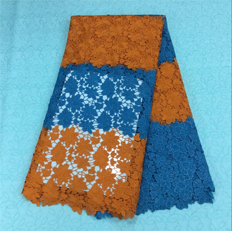 16-GAH! 2015 New african cord lace fabric for women dress,high quality african swiss voile lace high quality 5yards/lot