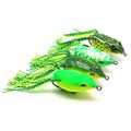 1 Pcs 13g Simulation Silicone Topwater Frogs Design Fishing Lures Baits Random Color