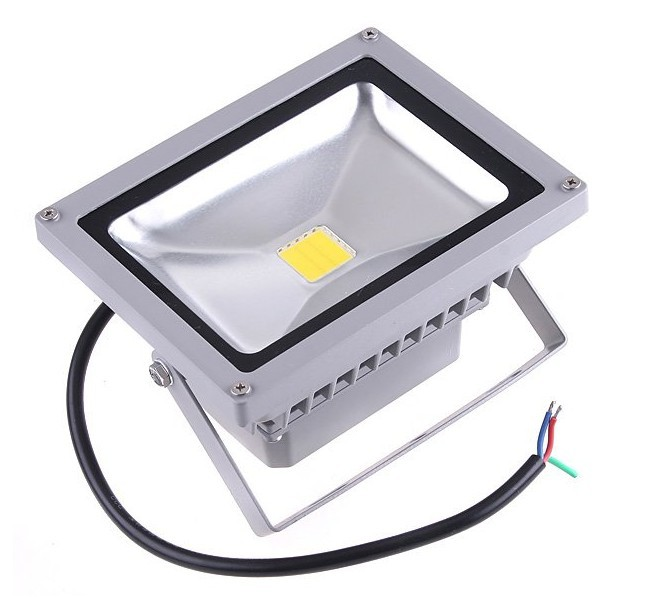 12V AC/DC 10W Warm White LED Flood Light High Power Waterproof floodlight Outdoor 12V Lights IP65 red blue green yellow LW2(China (Mainland))
