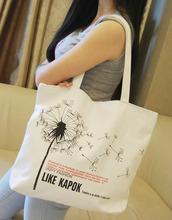 Women fashion Casual bag shoulder bag handbag  female big canvas bag shopping bag