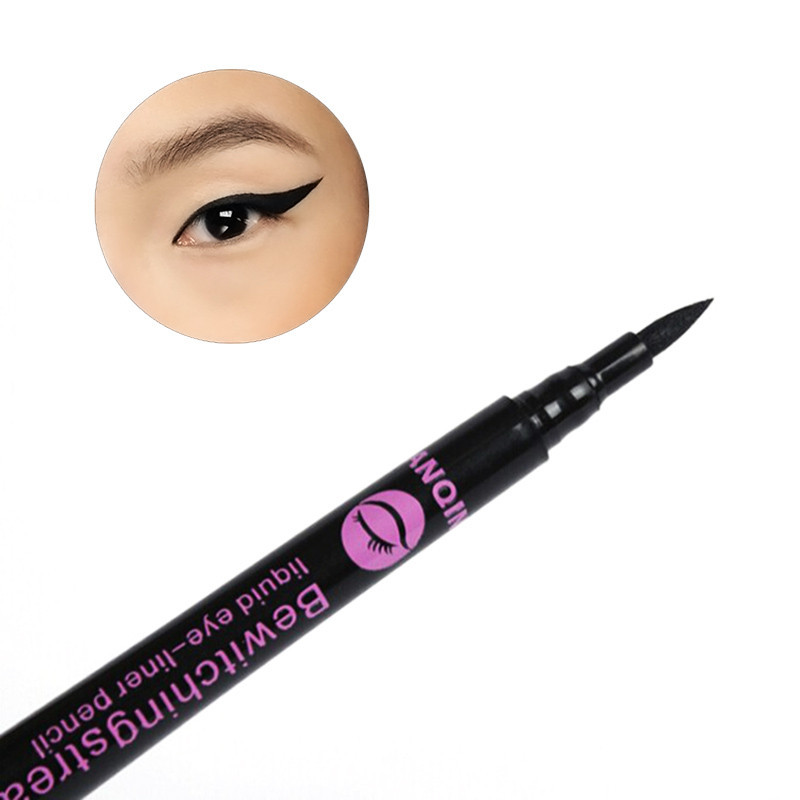 Mais novo 1 Pc À Prova D' Água Delineador Líquido Preto Eye Liner Pencil Pen Maquiagem Comestics # M01171