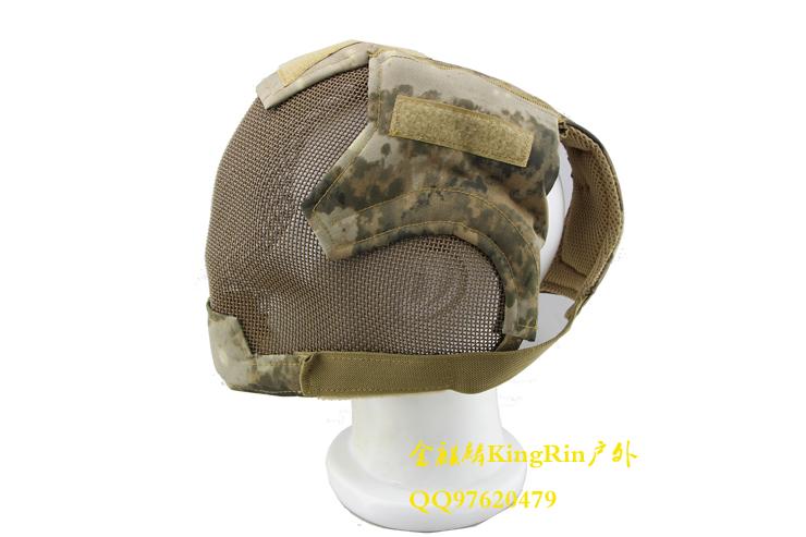 Black Bear dance mask Airsoft Blade Mesh Mask A-TACS FG Camo face gas mask<br><br>Aliexpress