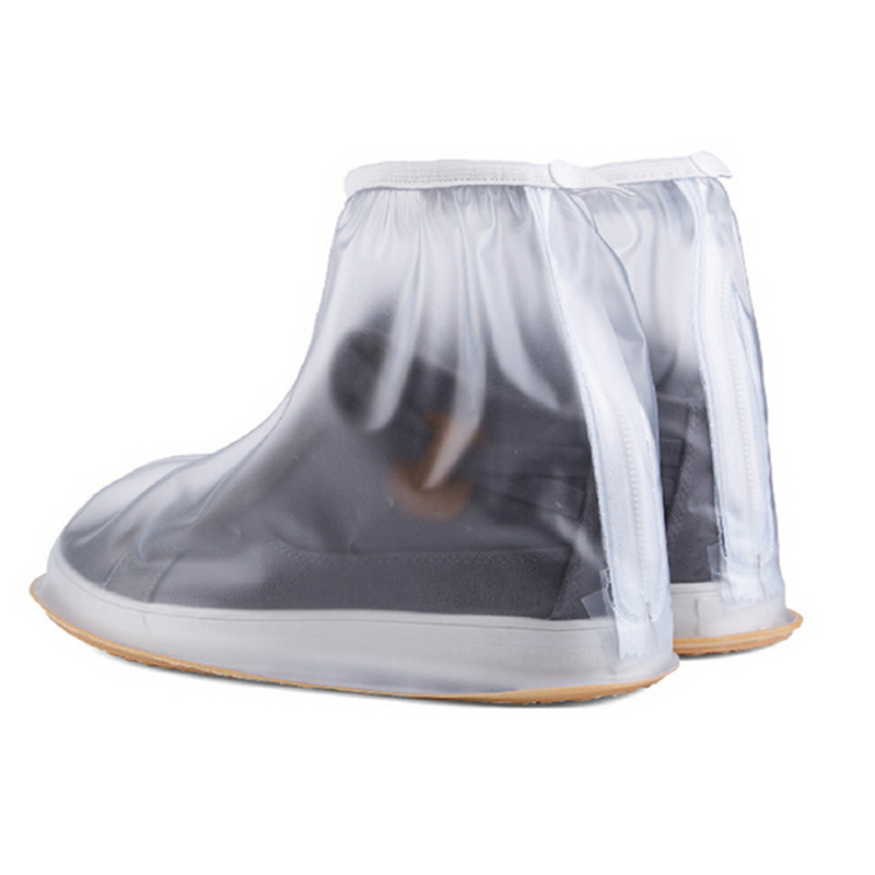 1Pair Waterproof Rain Shoes Cover Men Cycle Rain Boots Flat Slip-resistant Overshoes Rain Gear Shoes Protect RD673339(China (Mainland))