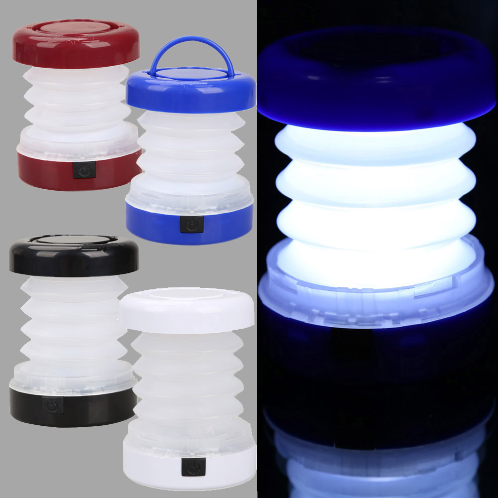 5 LED Waterproof Portable Scalable Mini Tent Light Outdoor Camping Lantern H1E1(China (Mainland))