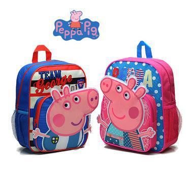 Peppa pig Backpack children school bags girls boys cartoon bag mochila infant peppa bolsas gift - Babycareprime store