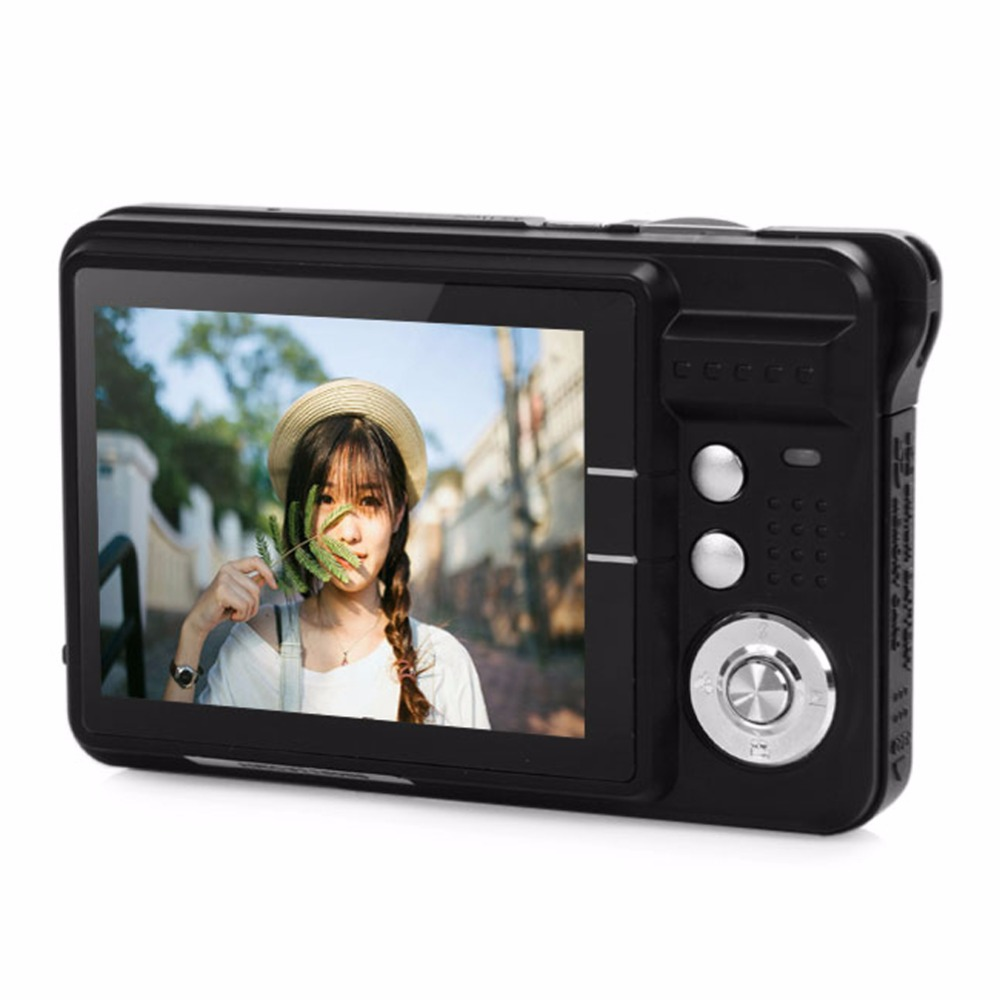 CDC3 18MP 720P HD Mini Compact Digital Camera 2.7 inch COMS 8x Zoom Photo Frame Video Recoding Cam photo camera(China (Mainland))