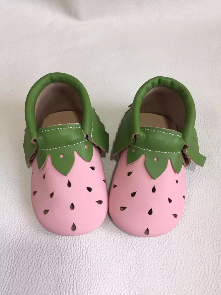 new style summer genuine leather pink baby moccasins fringe water drop Toddler Baby girls boys shoes soft sole first walkers(China (Mainland))