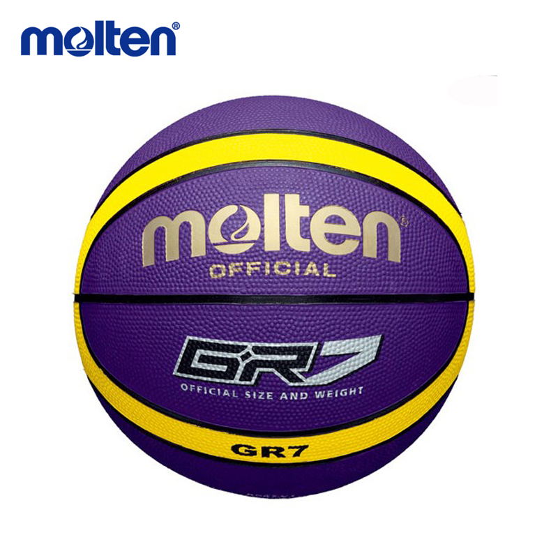 original molten basketball ball GR7 High Quality Genuine Molten rubber Material Official Size7 Free With Net Bag+ Needle(China (Mainland))