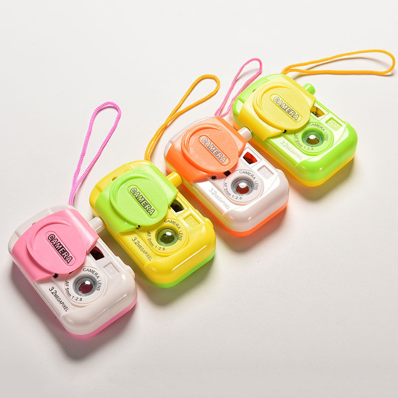 Free Shipping Baby Kids Plastic Toy Camera Intelligent Simulation Digital Camera Childrens Study Educational Toys Gifts(China (Mainland))