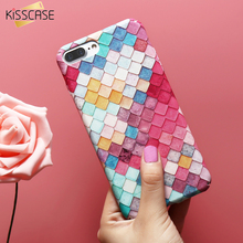KISSCASE For iPhone 7 7 Plus 6 6S Plus Mermaid 3D Scales Squama Hard PC Phone Cases Girl Cover For iPhone 6 6S Plus 7 Plus Case(China (Mainland))