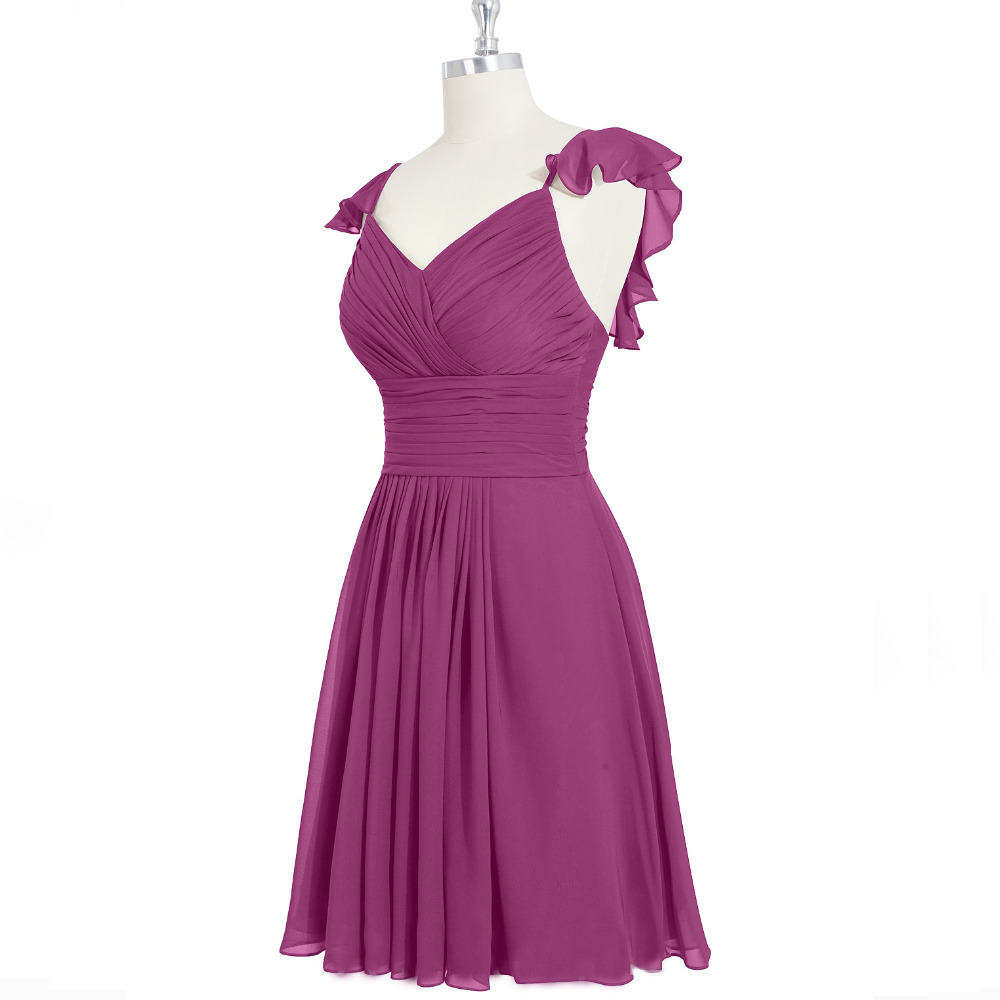 Bw8102 cheap plus size spaghetti straps a line short for Plus size coral dress for wedding