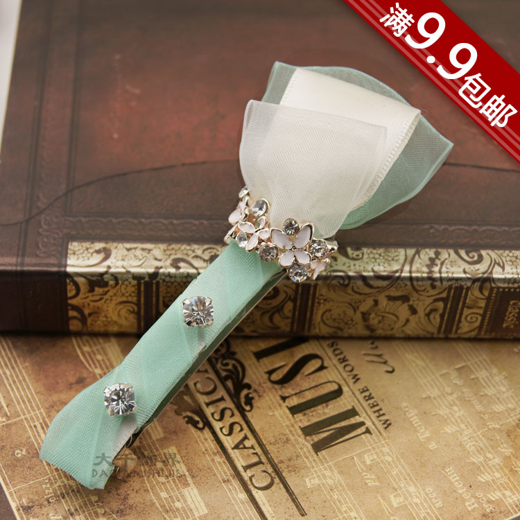 Great spring and summer fairy magic wand new arrival series hair accessory hair accessory side-knotted clip accessories d21
