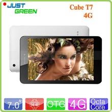Original Cube T7 4G FDD LTE Tablet PC 7 inch 1920*1200 MT8752 Octa Core 64Bit 2GB RAM 16GB ROM 5.0MP GPS Phone Call Android 4.4