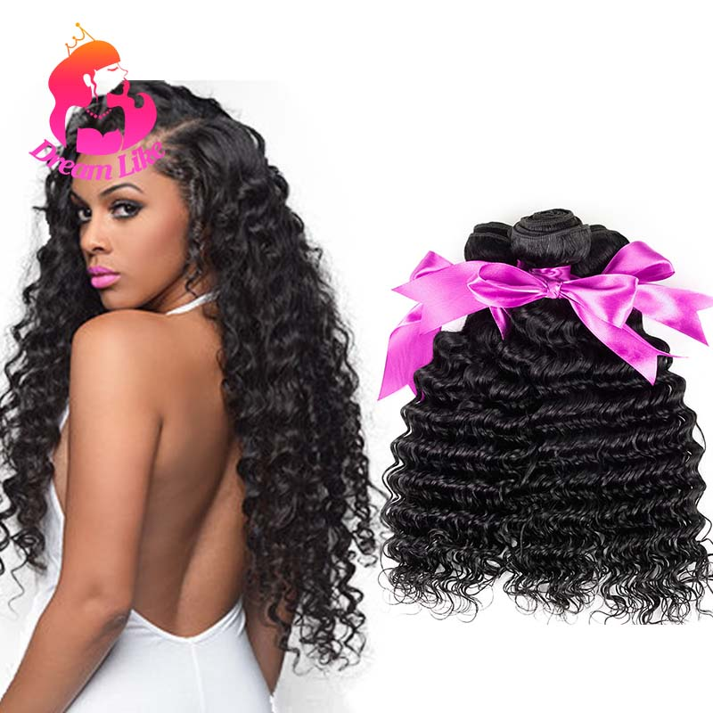 Best 8A Malaysian Virgin Hair Deep Wave Natural Black Malaysian Curly Weave Human Hair Cheap Malaysian Deep Curly Hair Bundles