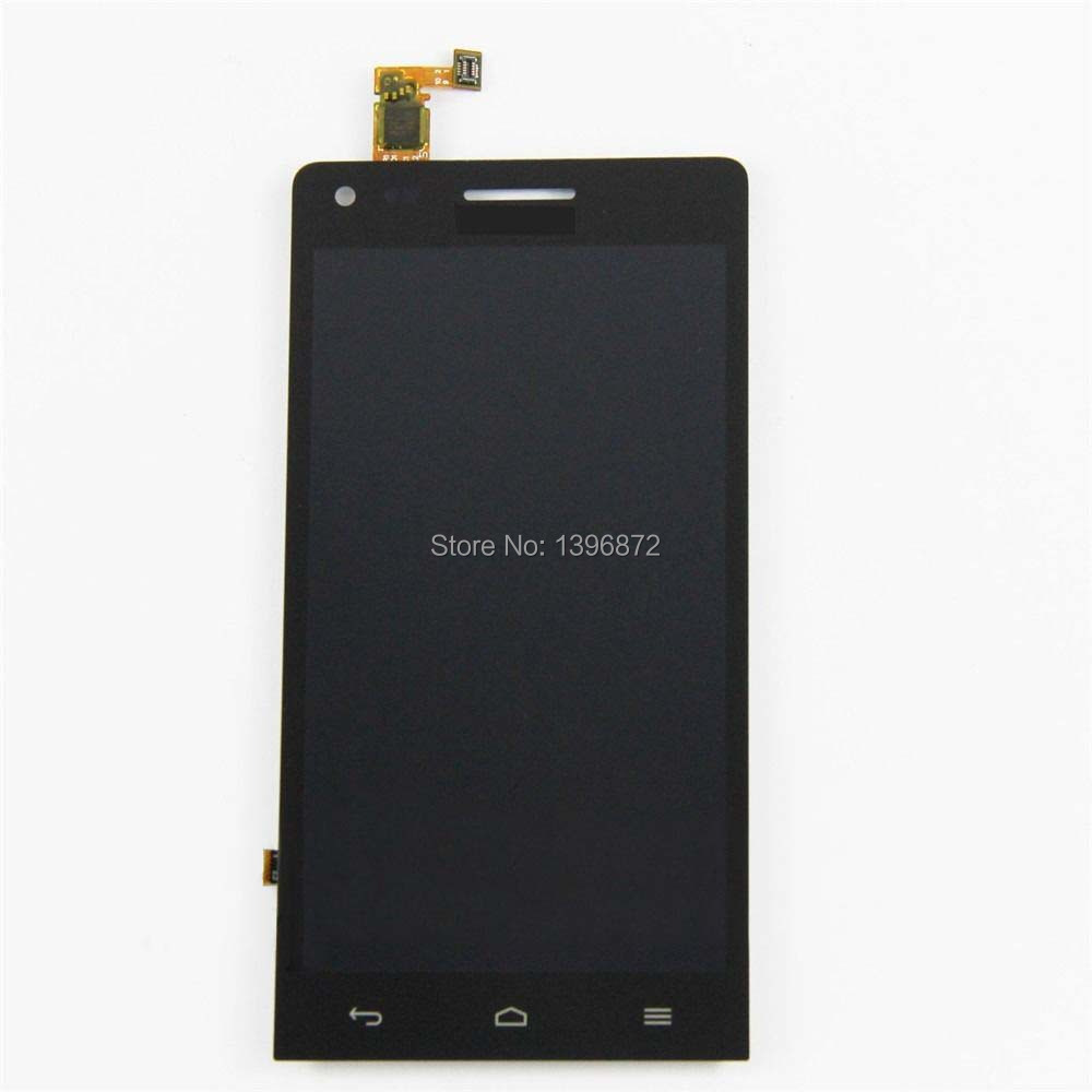 For Huawei Ascend G6 Black LCD Display Screen Panel + Touch Screen Digitizer Glass Lens Assembly Repair Replacement Part