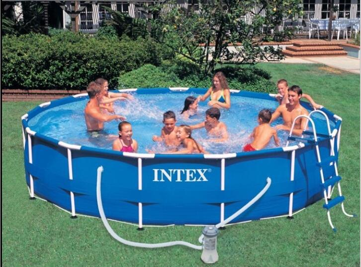 Intex pool frame reviews online shopping intex pool for Piscine portable