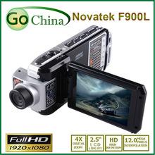 Free shipping Car DVR F900 ambarella recorder 1920 * 1080P 12MP 30fps ambarella DVR Full HD Video Recorder(China (Mainland))