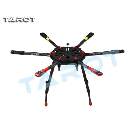 Tarot X6 Hexacopter TL6X001 Umbrella Folding Arm w/ Electronic Landing Gear for FPV Photography(China (Mainland))