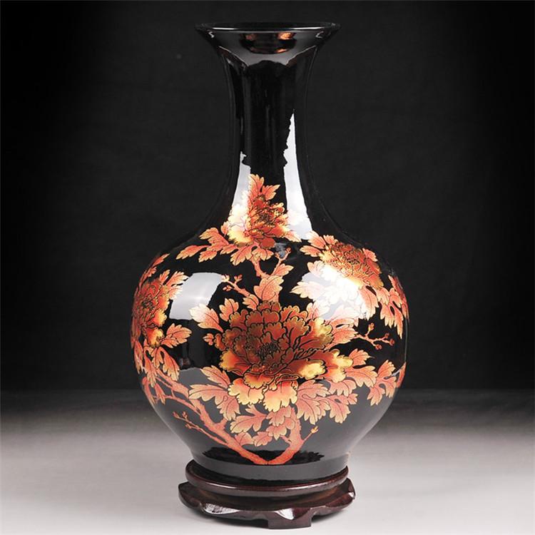 Antique porcelaine vase promotion achetez des antique - Vases decoration interieure ...
