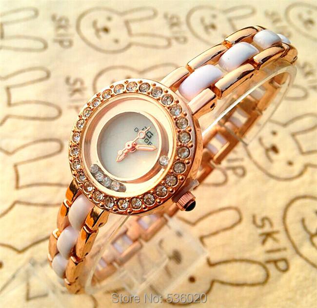 Arrived Ladies Crystal Rhinestone Wrsitwatch Bracelet Women Beauty Dress Quartz watch clock gurl Gift relogio masculino - ShenZhen OKE Trade Co.,LTD store