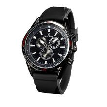Hombres de negocios relojes, marca V6 relojes, 2016, los últimos estilos, exterior reloj deportivo, correa de silicona, calidad de gama alta reloj