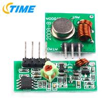 Buy 5pair =10pcs RF wireless receiver module & transmitter module board arduino super regeneration 315/433MHZ DC5V (ASK /OOK) for $3.40 in AliExpress store