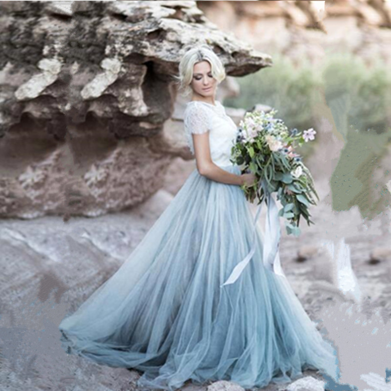Compare prices on ice blue wedding dress online shopping for Ice blue wedding dress