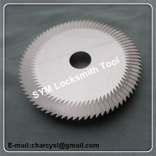 WENXING horizontal key machines cutter 0011B C.C. carbide single milling cutter for key blank cuttting free shipping(China (Mainland))
