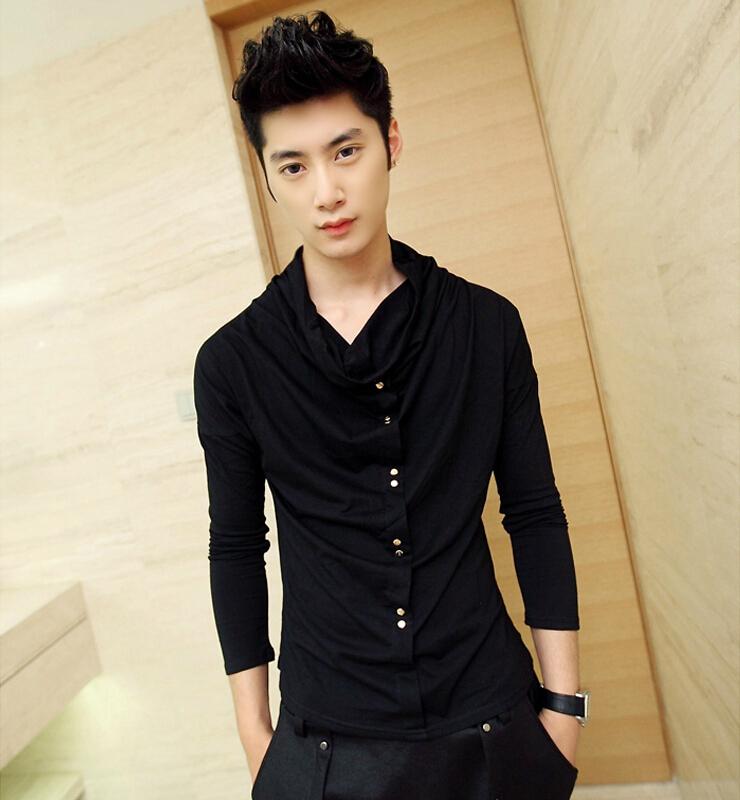 Buy Fashion Korean Men 39 S Clothing 2016 New Mens Long Sleeve Hip Hop T Shirts