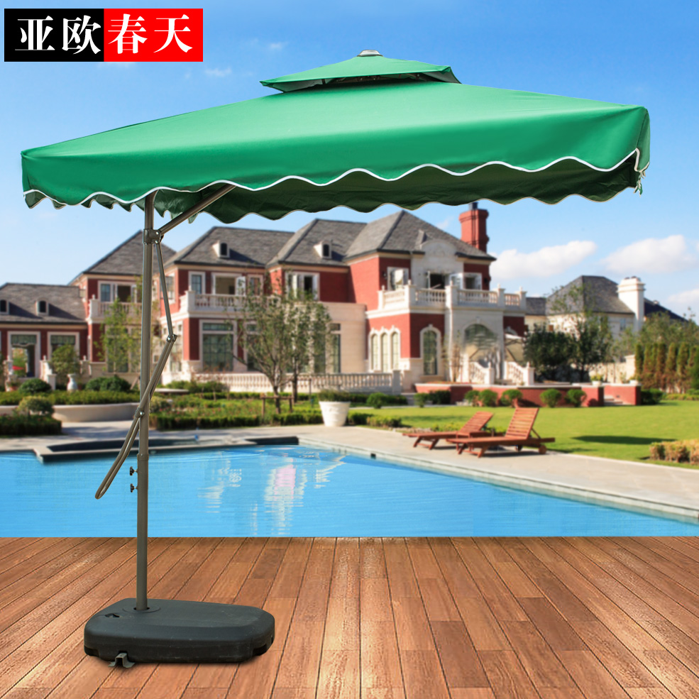 Outdoor furniture garden patio umbrellas umbrella sun security guard post large Rome<br><br>Aliexpress