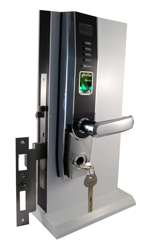 ZKTECO LOCK Biometric fingerprint combination digital code password entrance door lock ZL500 Wooden Door LOCK OLED Display<br><br>Aliexpress