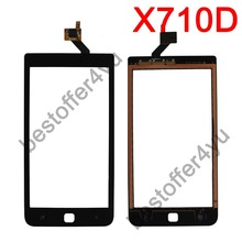 HAIPAI X710D New Touch Screen Digitizer Replacement for HAIPAI X710D ANDROID Phone Free Shipping WITH TRACKING NO(China (Mainland))