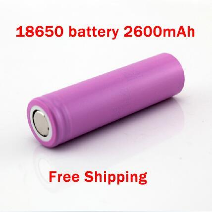 18650 3.7V 2600mAh Li-ion Battery rechargeable Battery For Flashlight And Any Others(China (Mainland))