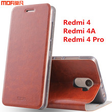 "Redmi 4a case xiaomi redmi 4 pro case cover redmi 4 case flip case MOFi original Xiaomi Mi Redmi 4 leather funda capa coque 5""(China (Mainland))"