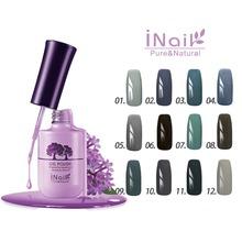 Free shipping! Grandma Grey Series! 6pcs Inail Gel Nail Polish 15ml 12 colors for choice.